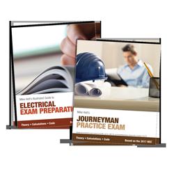 2017 Electrician Exam Preparation Book & Journeyman Practice Exam